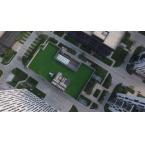 公司办公楼俯视
